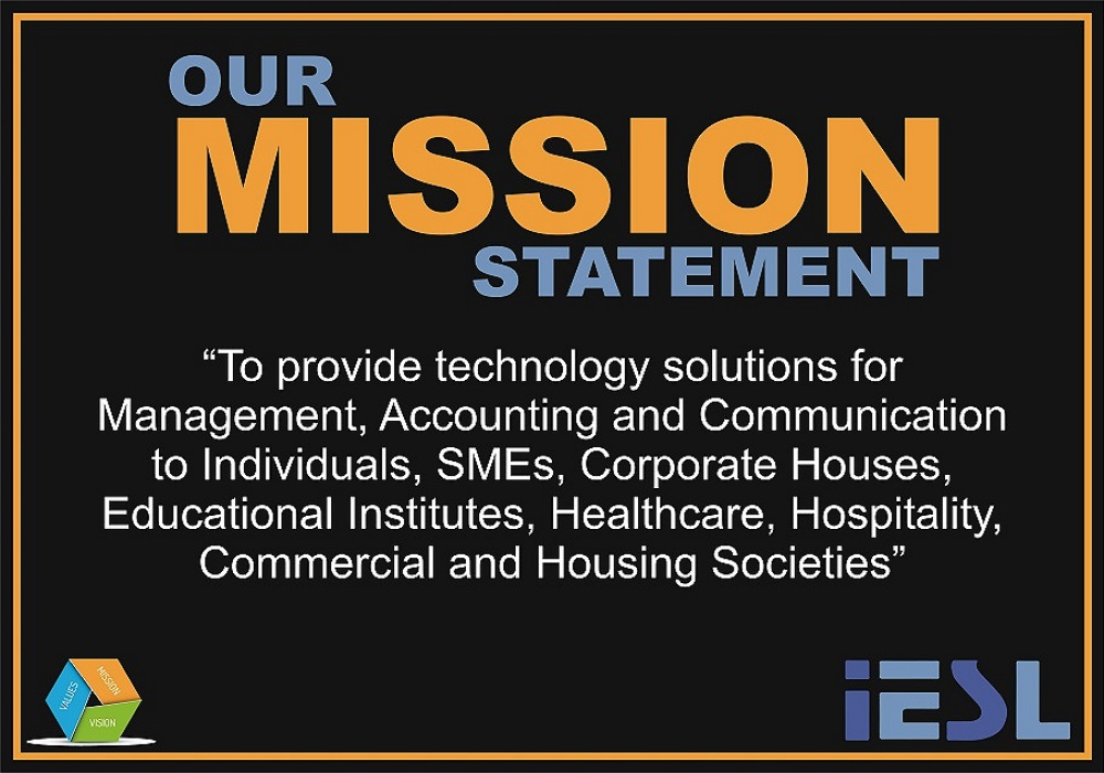 MISSION: To provide technology solutions for Management, Accounting and Communication.